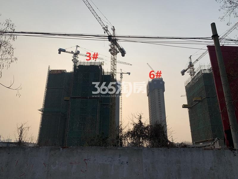 泽信公馆3、6#实景图(3.20)