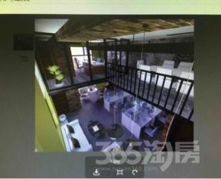 缤悦湾电商公寓102平米整租豪华装可注册