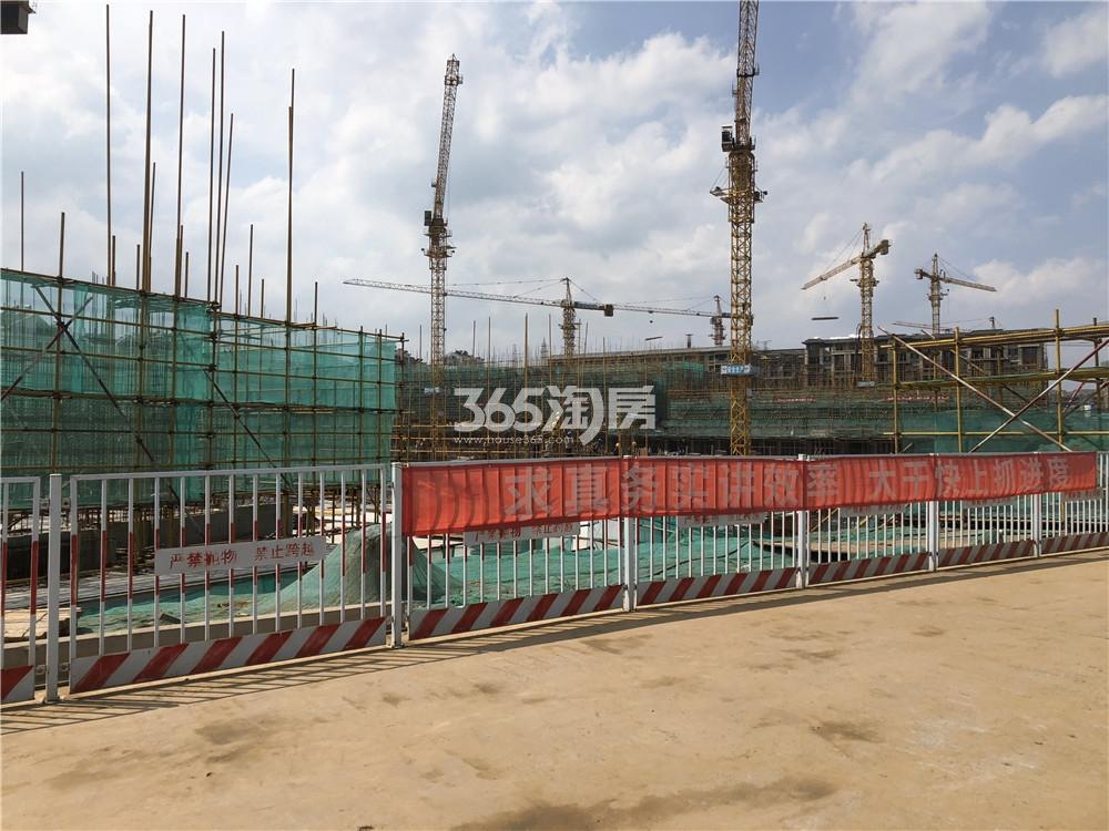 北京城建江浦G48地块实景图
