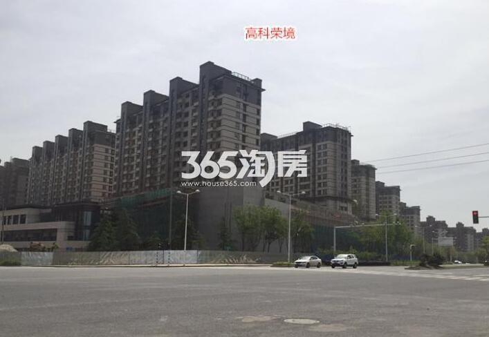 高科荣境二期在建小高层楼栋实景图(7.26)
