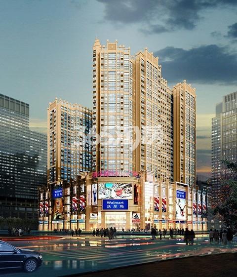 南洋国际购物广场效果图