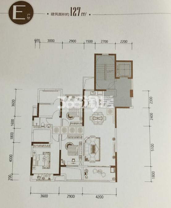 大江东宝龙广场户型图