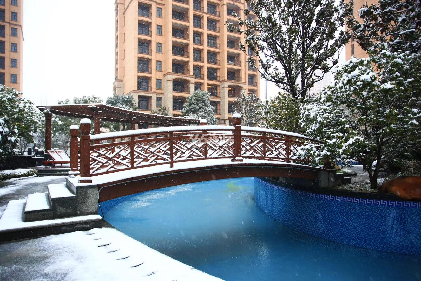 雅居乐滨江国际雪景实景图(1.4)