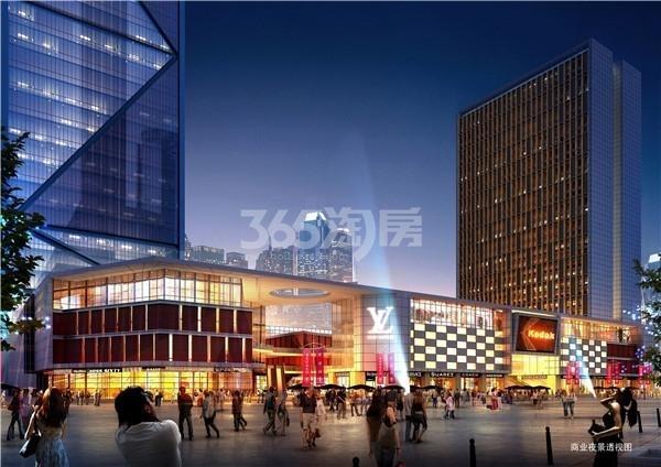 荣盛时代广场效果图