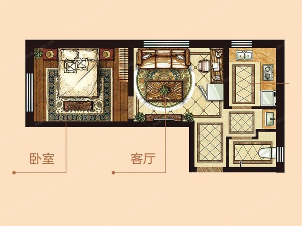 中海学府公馆户型图