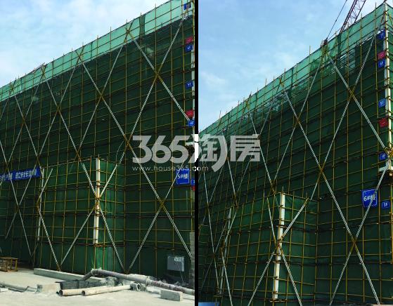 2017年10月金地大运河府5、6号楼实景