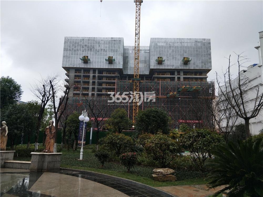 21世纪太阳城银座工程进展实景图(1.5)