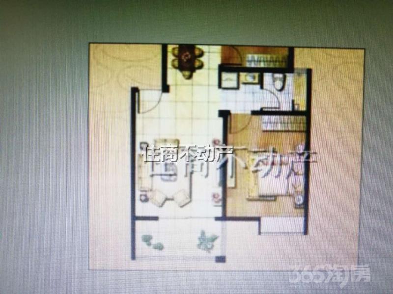 郡望花园3室2厅1卫85平米2013年产权房精装