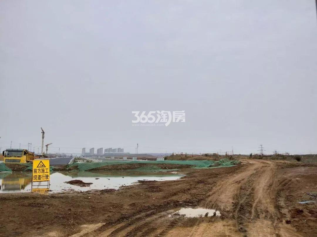 合景泰富禄口G67地块实景图(12.28)