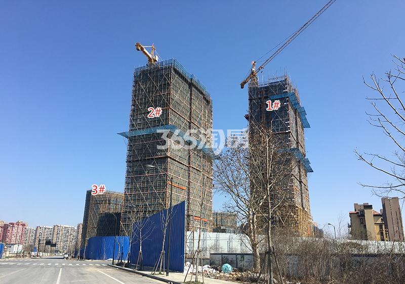 中国铁建西湖国际城1-3号楼实景图(2018.3)