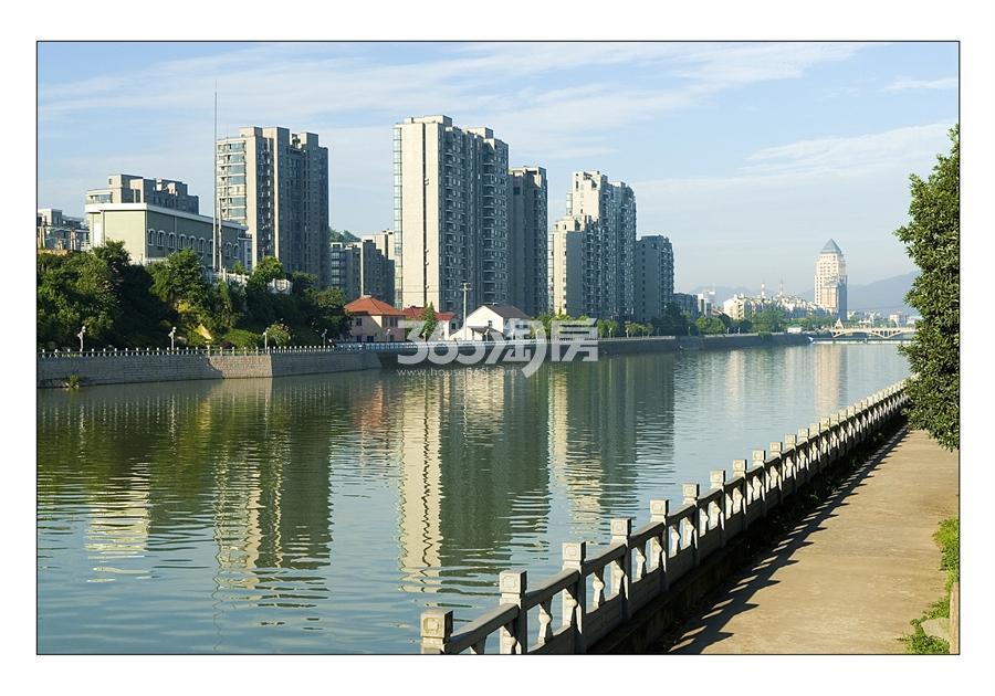 苕溪壹号苕溪景观实景图