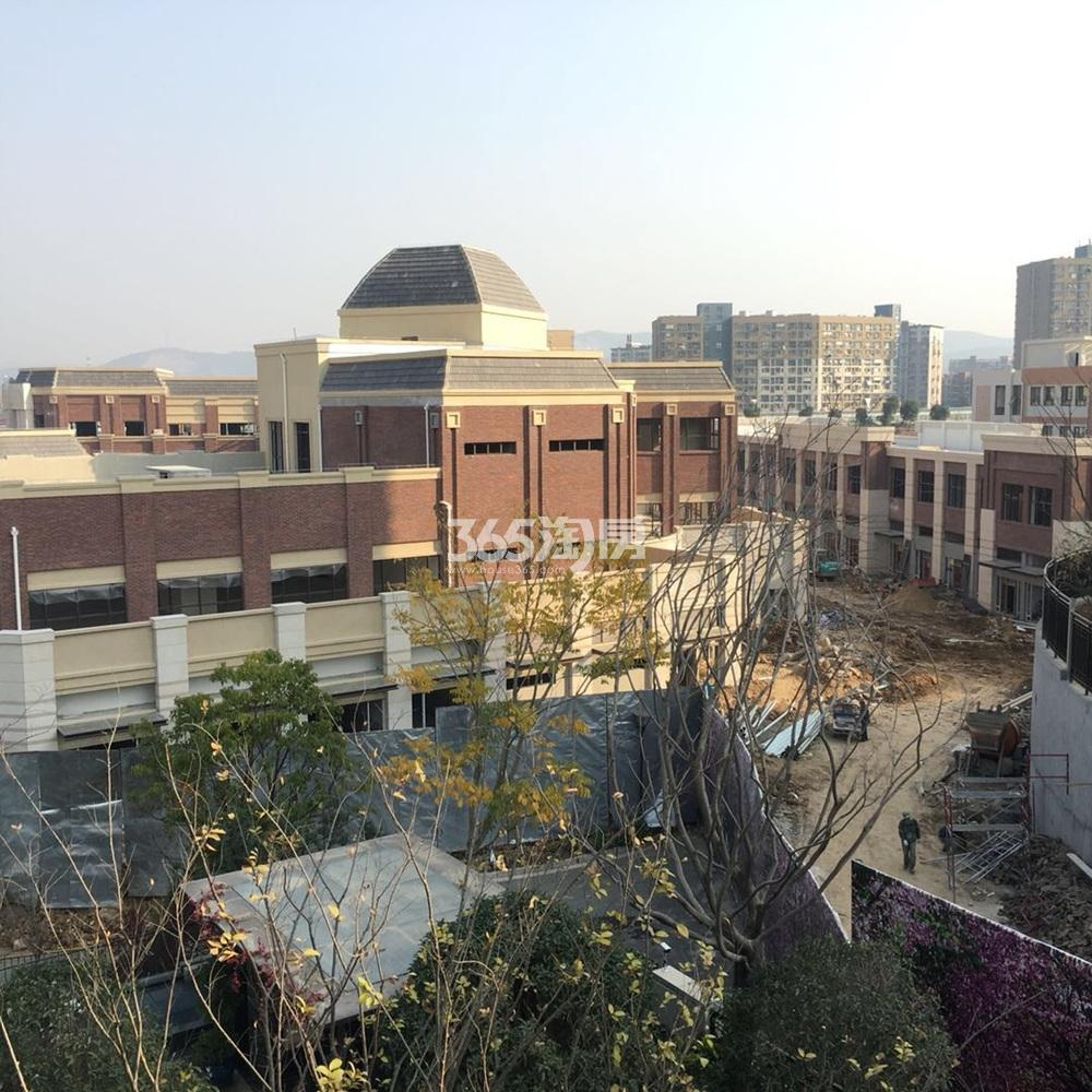 银亿一番街施工实景图(11.26)