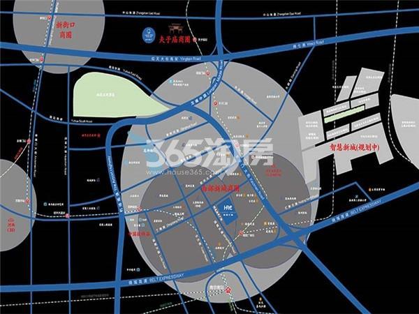 云树公馆交通图