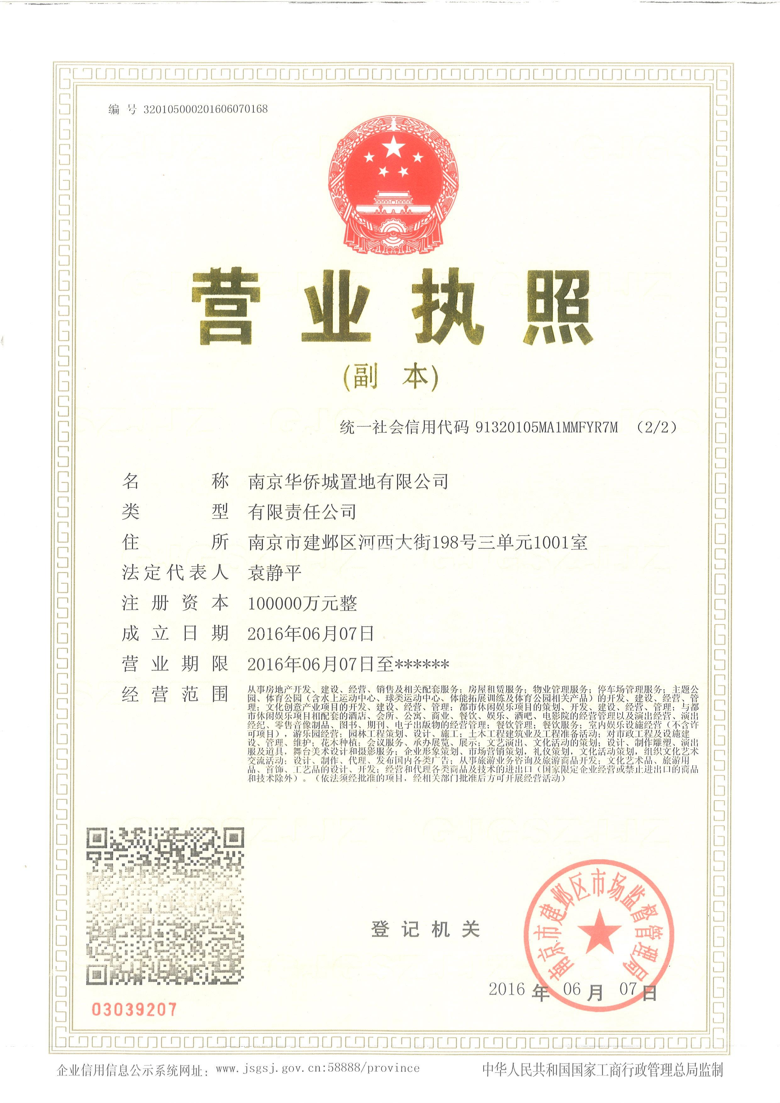 绿地华侨城海珀滨江销售证照