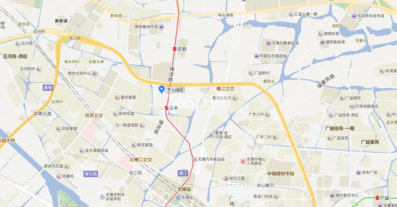 凌云峰阁交通图