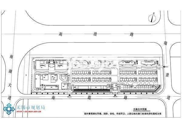 银城东樾府平面图