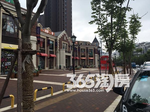 华邦观筑里沿街实景图(2018.6.4)