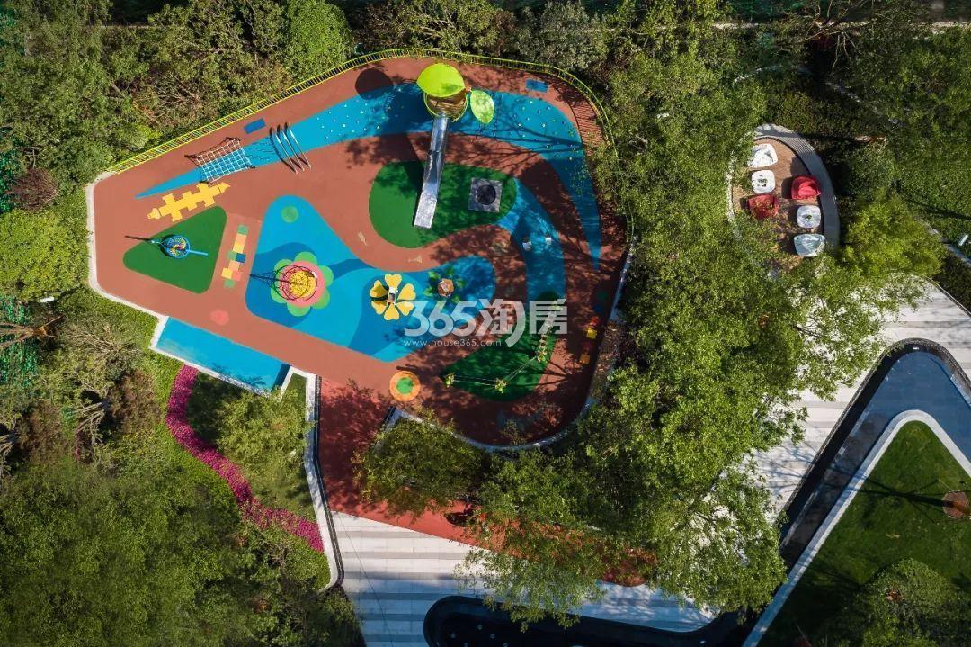 新城西岸公园实景图