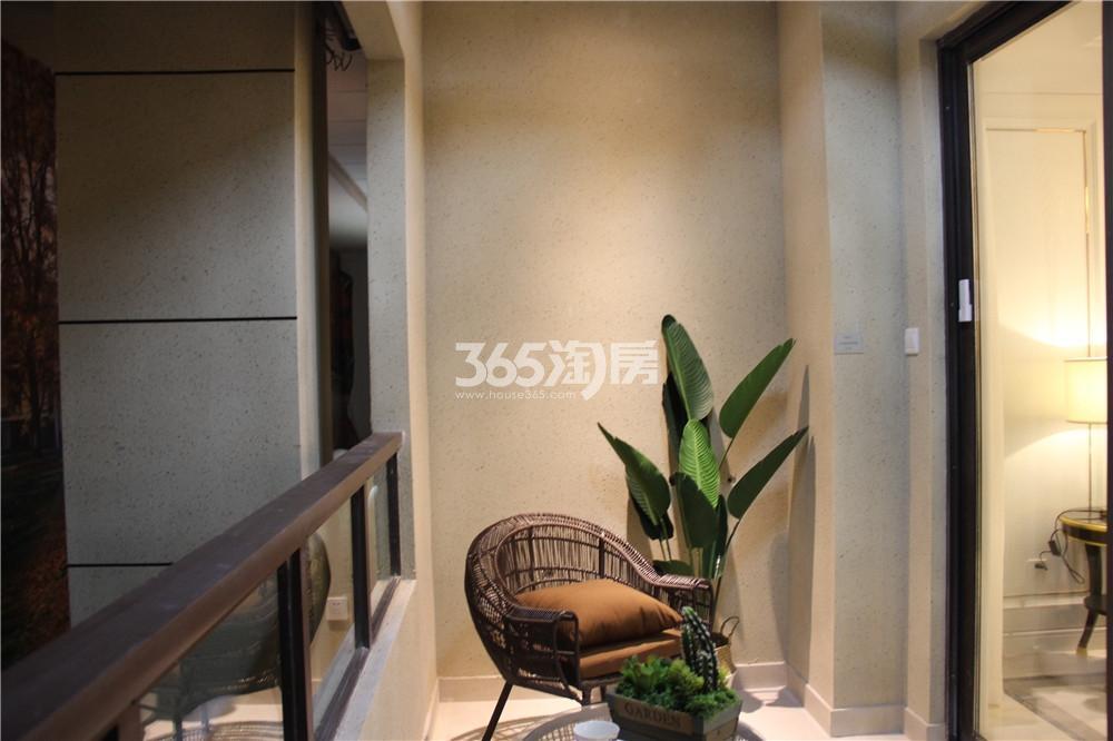 江山薈C1户型样板间-阳台
