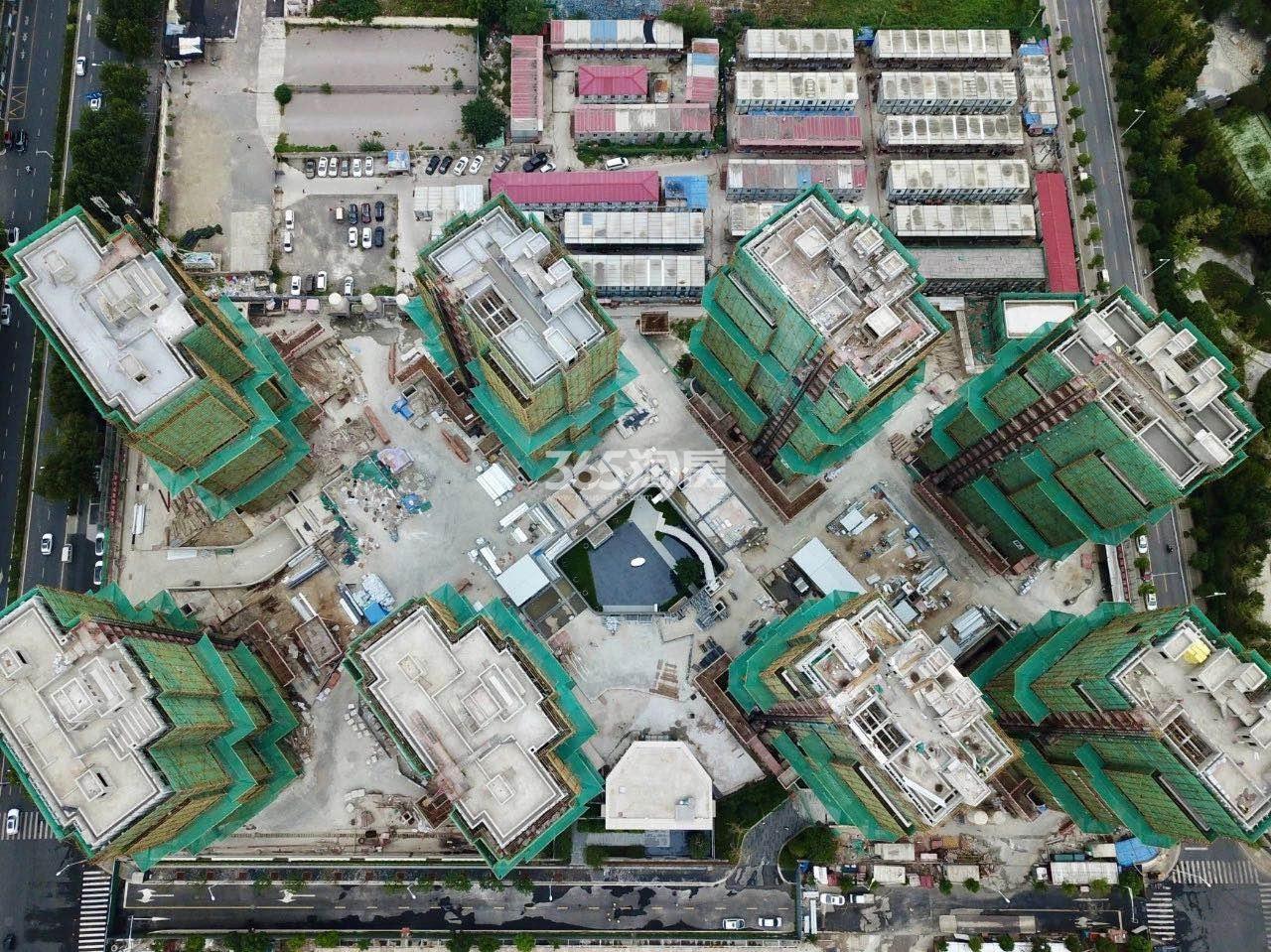 海玥花园项目A地块鸟瞰图