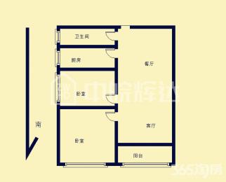 一室一厅小户型挂学区 五十中性价比高的房子 交通便利不沿马路