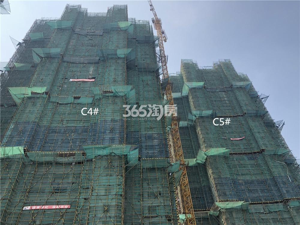 华润国际社区C4、C5号楼实景图(7.26)