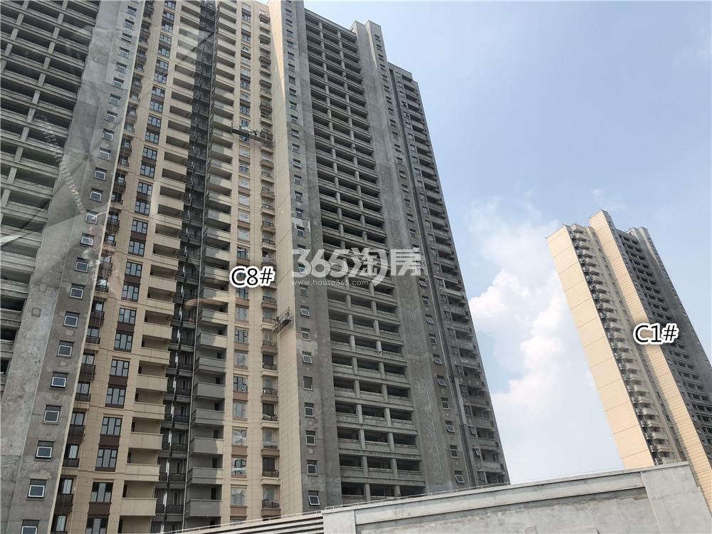 华润国际社区C8、C1号楼实景图(7.26)