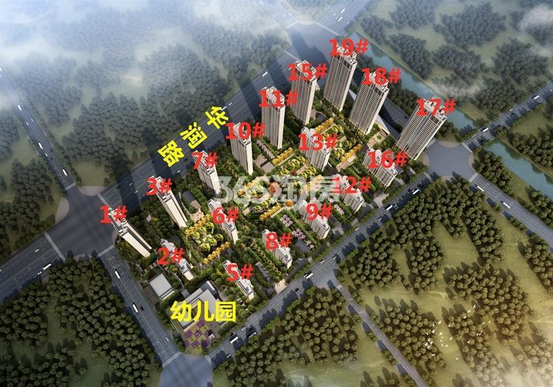 中南中山府鸟瞰图
