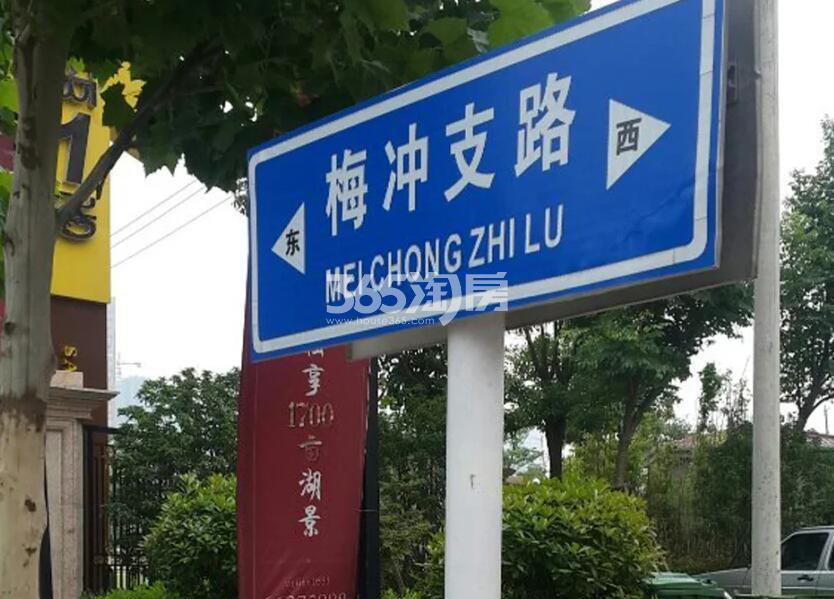 金科半岛壹号周边道路(2018.4.23)