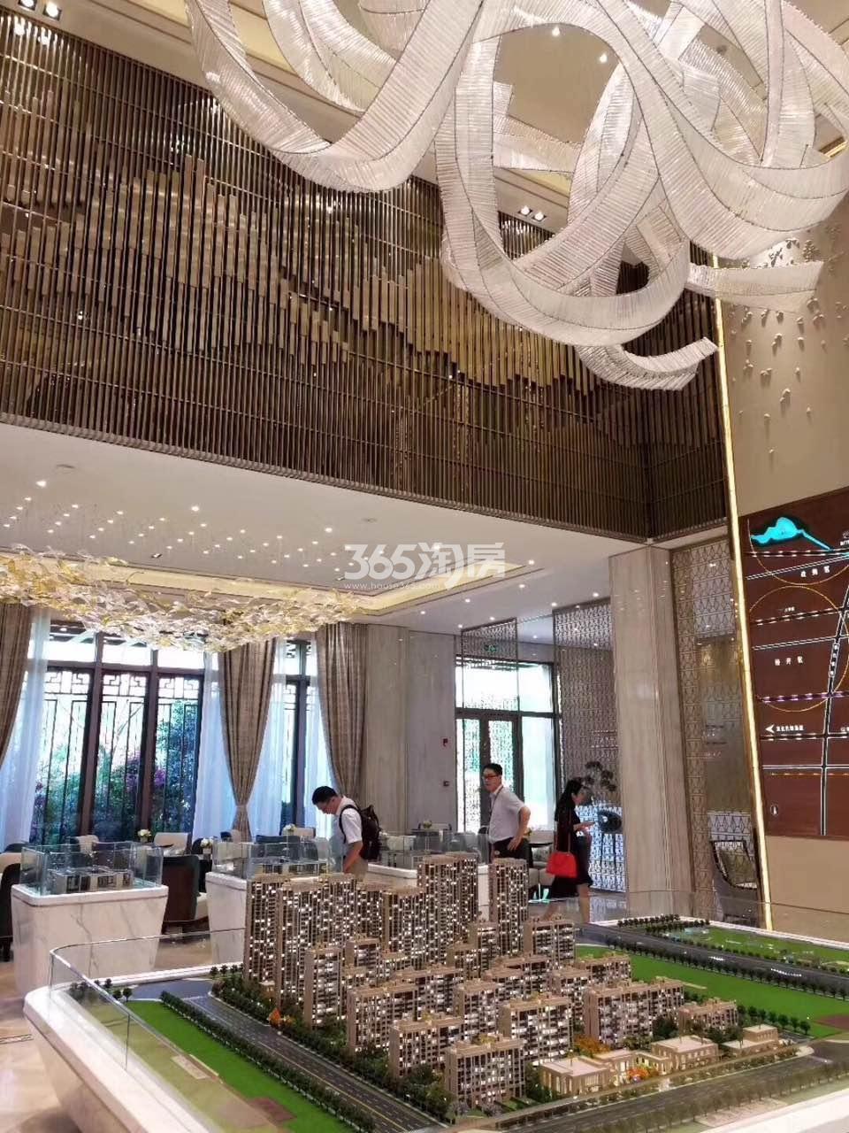 滨湖金茂悦售楼部内景实景图(2017.12.1)