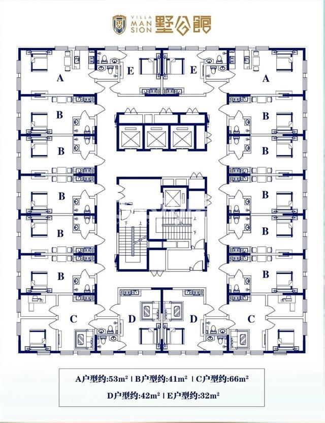 公寓 总平面图