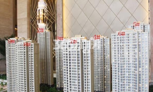 新华城实景图