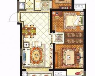 保利西江月3室2厅1卫89平米毛坯产权房2017年建