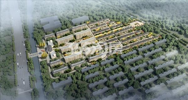 香樟公馆鸟瞰图
