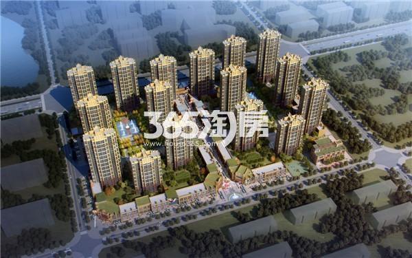 北京城建·金城华府鸟瞰图