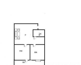小市街 单室套 1600元一个月 看房随时 可以长租 好房不