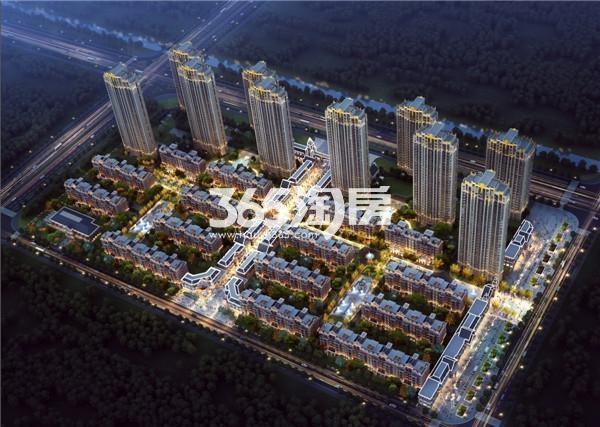 北京城建·珑熙庄园鸟瞰图