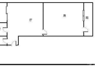 翠园新村1室1厅1卫44.25平米整租简装