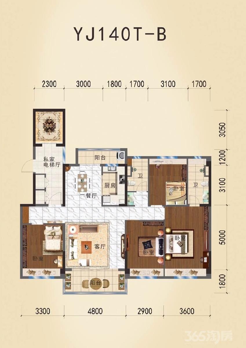碧桂园S9紫金庄园3室2厅1卫99平米2019年产权房毛坯