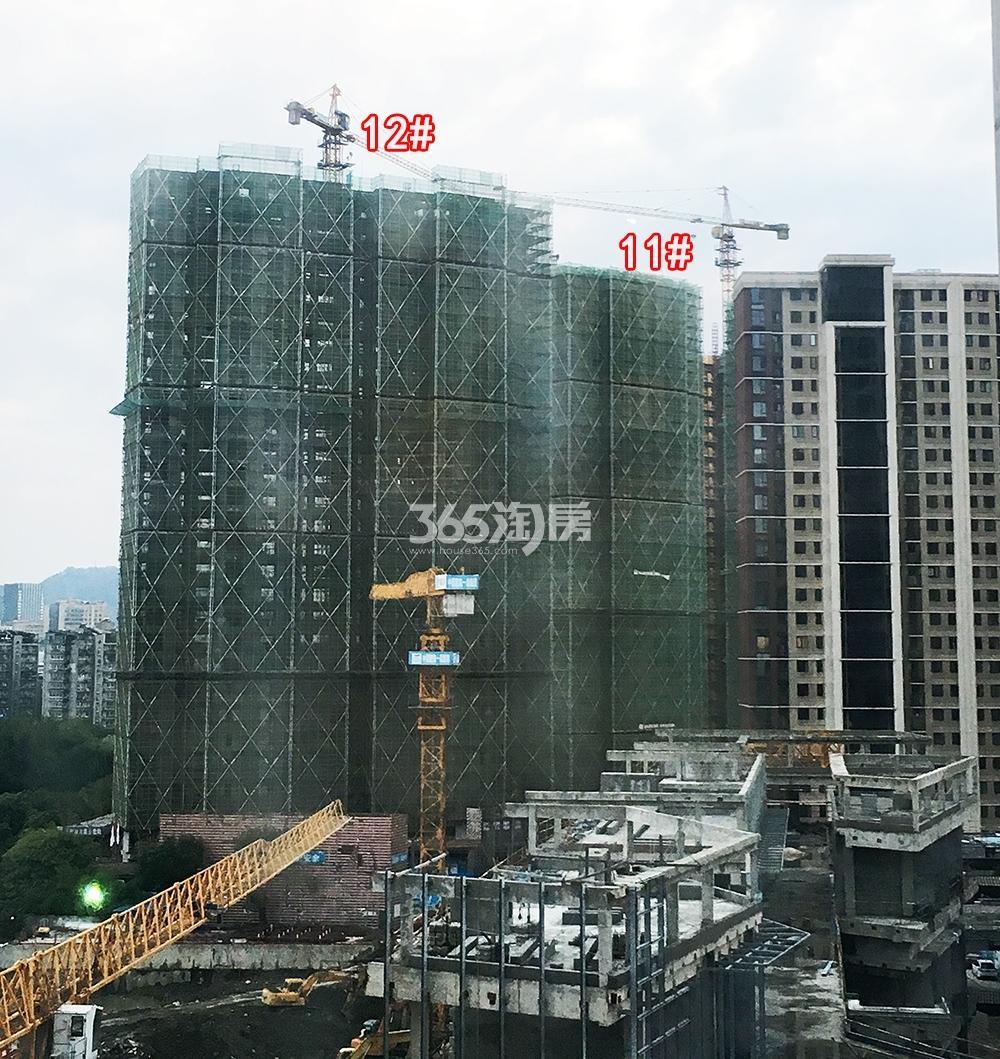 2018年9月融信公馆ARC高层11、12号楼(地名幢号)实景