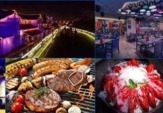 天堂杭州稀缺胜利河美食街餐饮旺铺