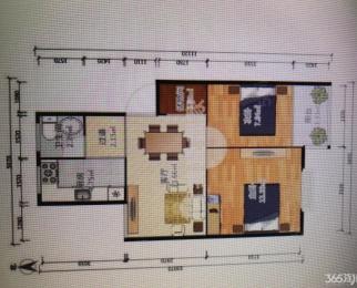 金蕊家苑2室1厅1卫67平米豪华装整租