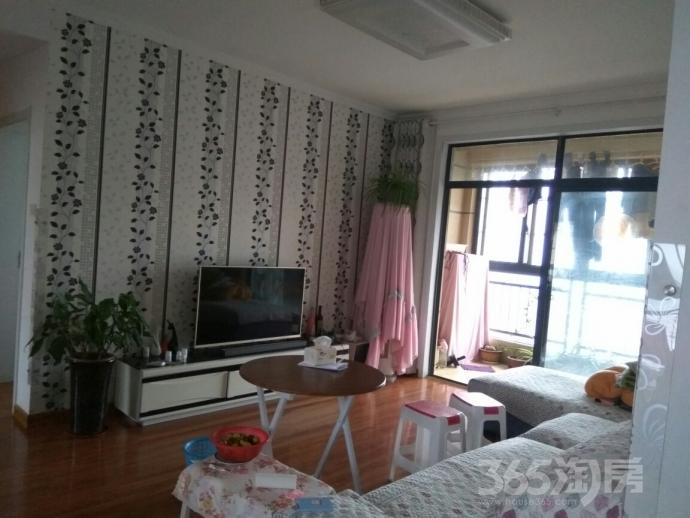 绿地世纪城塞尚公馆2室2厅1卫89平米2014年产权房精装
