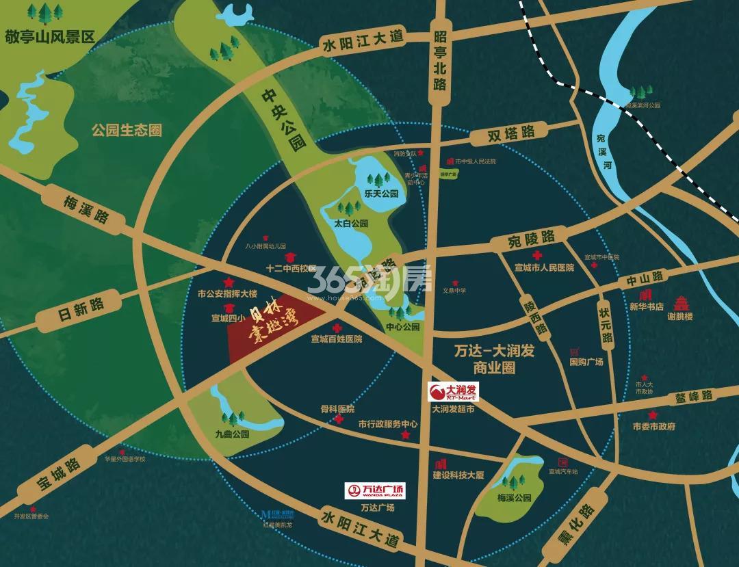 贝林棠樾湾交通图