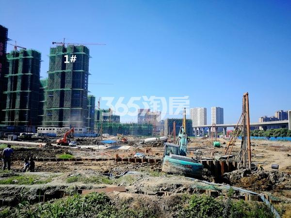 太平洋城中城三期商业地块实景(2018.7)