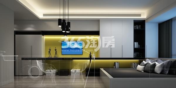 金科米兰尔家公寓27平B户型样板间效果图