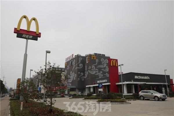 洛城·紫园周边配套——麦当劳汽车餐厅