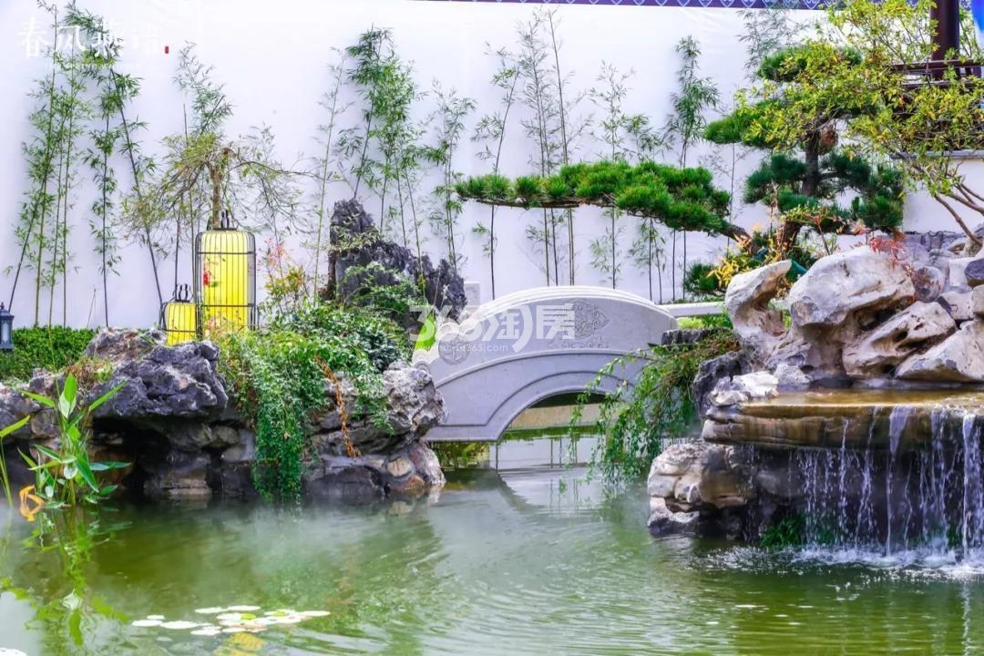 蓝城春风燕语实景图