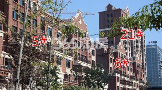 悦湖山院5#、6#、21#楼实景(2018.1.15)