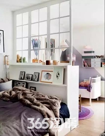 隔断不一定要做墙,家里有这样简单设计,好看到逆天!